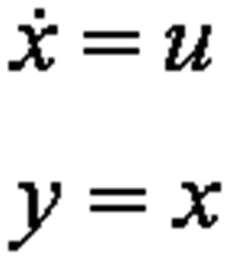 Dynamic Equations for an Integrator.